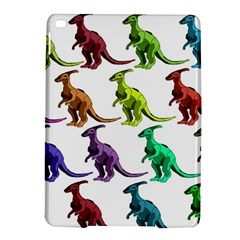 Multicolor Dinosaur Background Ipad Air 2 Hardshell Cases