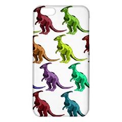 Multicolor Dinosaur Background iPhone 6 Plus/6S Plus TPU Case