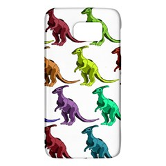 Multicolor Dinosaur Background Galaxy S6