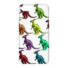 Multicolor Dinosaur Background Apple Iphone 7 Plus Hardshell Case