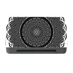 Black Lace Kaleidoscope On White Memory Card Reader with CF