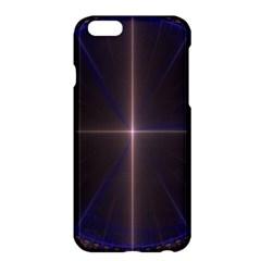 Color Fractal Symmetric Blue Circle Apple Iphone 6 Plus/6s Plus Hardshell Case