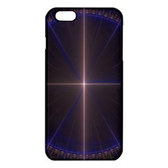 Color Fractal Symmetric Blue Circle Iphone 6 Plus/6s Plus Tpu Case