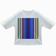 Colorful Stripes Background Infant/Toddler T-Shirts