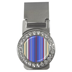 Colorful Stripes Background Money Clips (cz)