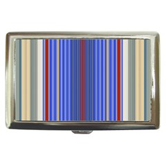 Colorful Stripes Background Cigarette Money Cases