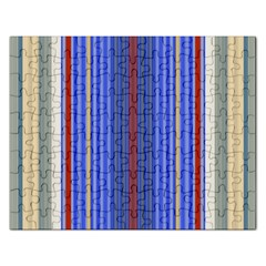Colorful Stripes Background Rectangular Jigsaw Puzzl
