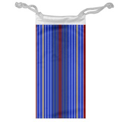 Colorful Stripes Background Jewelry Bag