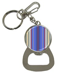 Colorful Stripes Background Button Necklaces