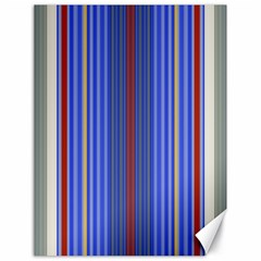 Colorful Stripes Background Canvas 18  X 24