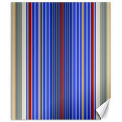 Colorful Stripes Background Canvas 20  x 24