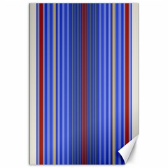 Colorful Stripes Background Canvas 20  x 30