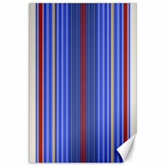Colorful Stripes Background Canvas 24  X 36