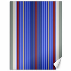 Colorful Stripes Background Canvas 36  X 48