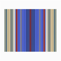 Colorful Stripes Background Small Glasses Cloth (2 Side)