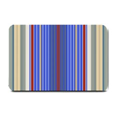 Colorful Stripes Background Small Doormat