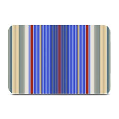 Colorful Stripes Background Plate Mats