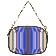 Colorful Stripes Background Chain Purses (one Side)
