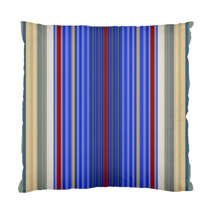 Colorful Stripes Background Standard Cushion Case (Two Sides)