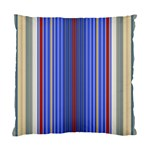 Colorful Stripes Background Standard Cushion Case (Two Sides) Back