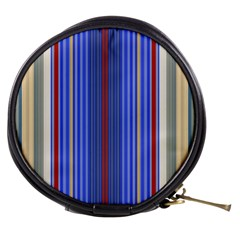 Colorful Stripes Background Mini Makeup Bags