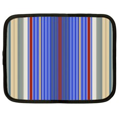 Colorful Stripes Background Netbook Case (xxl)