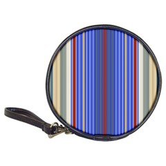 Colorful Stripes Background Classic 20-CD Wallets