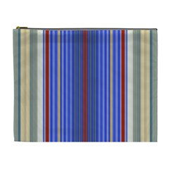Colorful Stripes Background Cosmetic Bag (XL)