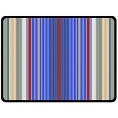 Colorful Stripes Background Fleece Blanket (Large)