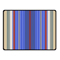 Colorful Stripes Background Fleece Blanket (Small)