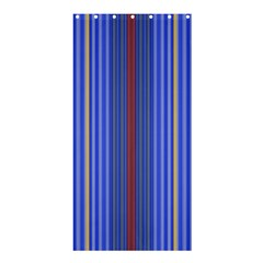 Colorful Stripes Background Shower Curtain 36  X 72  (stall)
