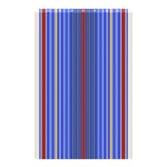Colorful Stripes Background Shower Curtain 48  X 72  (small)