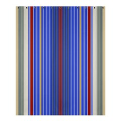 Colorful Stripes Background Shower Curtain 60  X 72  (medium)
