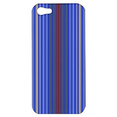 Colorful Stripes Background Apple Iphone 5 Hardshell Case