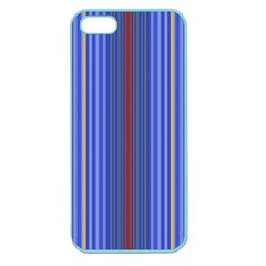Colorful Stripes Background Apple Seamless Iphone 5 Case (color)