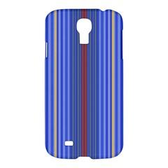Colorful Stripes Background Samsung Galaxy S4 I9500/I9505 Hardshell Case
