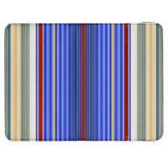 Colorful Stripes Background Samsung Galaxy Tab 7  P1000 Flip Case