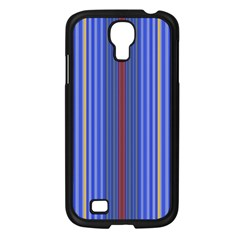 Colorful Stripes Background Samsung Galaxy S4 I9500/ I9505 Case (black)