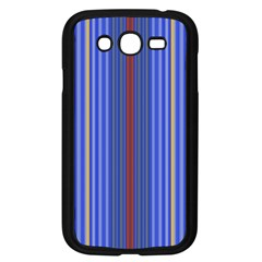 Colorful Stripes Background Samsung Galaxy Grand Duos I9082 Case (black)