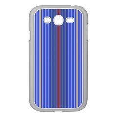 Colorful Stripes Background Samsung Galaxy Grand DUOS I9082 Case (White)