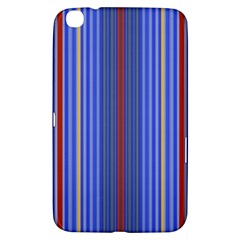 Colorful Stripes Background Samsung Galaxy Tab 3 (8 ) T3100 Hardshell Case