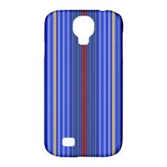 Colorful Stripes Background Samsung Galaxy S4 Classic Hardshell Case (pc+silicone)