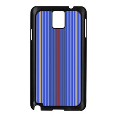 Colorful Stripes Background Samsung Galaxy Note 3 N9005 Case (Black)