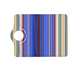 Colorful Stripes Background Kindle Fire Hd (2013) Flip 360 Case