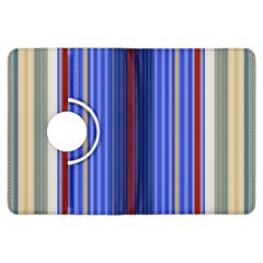 Colorful Stripes Background Kindle Fire Hdx Flip 360 Case