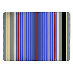 Colorful Stripes Background Samsung Galaxy Tab Pro 12.2  Flip Case