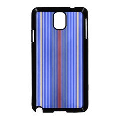 Colorful Stripes Background Samsung Galaxy Note 3 Neo Hardshell Case (black)