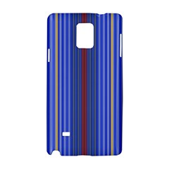 Colorful Stripes Background Samsung Galaxy Note 4 Hardshell Case