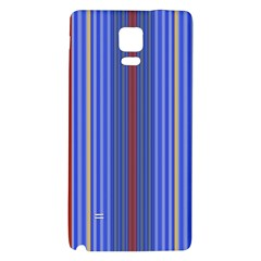 Colorful Stripes Background Galaxy Note 4 Back Case