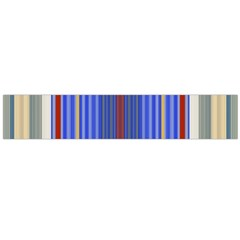 Colorful Stripes Background Flano Scarf (Large)